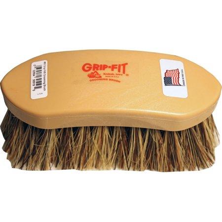 Union Fiber Brush - Decker Mfg Company-Pride #96 Medium Stiff Natural Union Fiber Brush- Brown