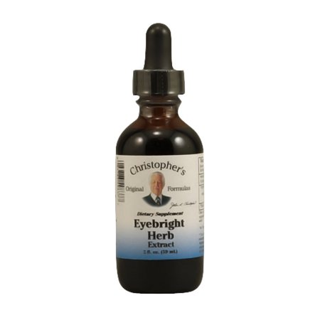 Dr. Christophers Original Eyebright Herb Liquid Extract - 2 Oz