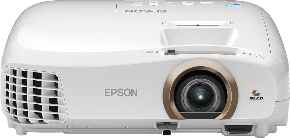 Epson Home Cinema 2045 LCD Projector White by Epson Corporation