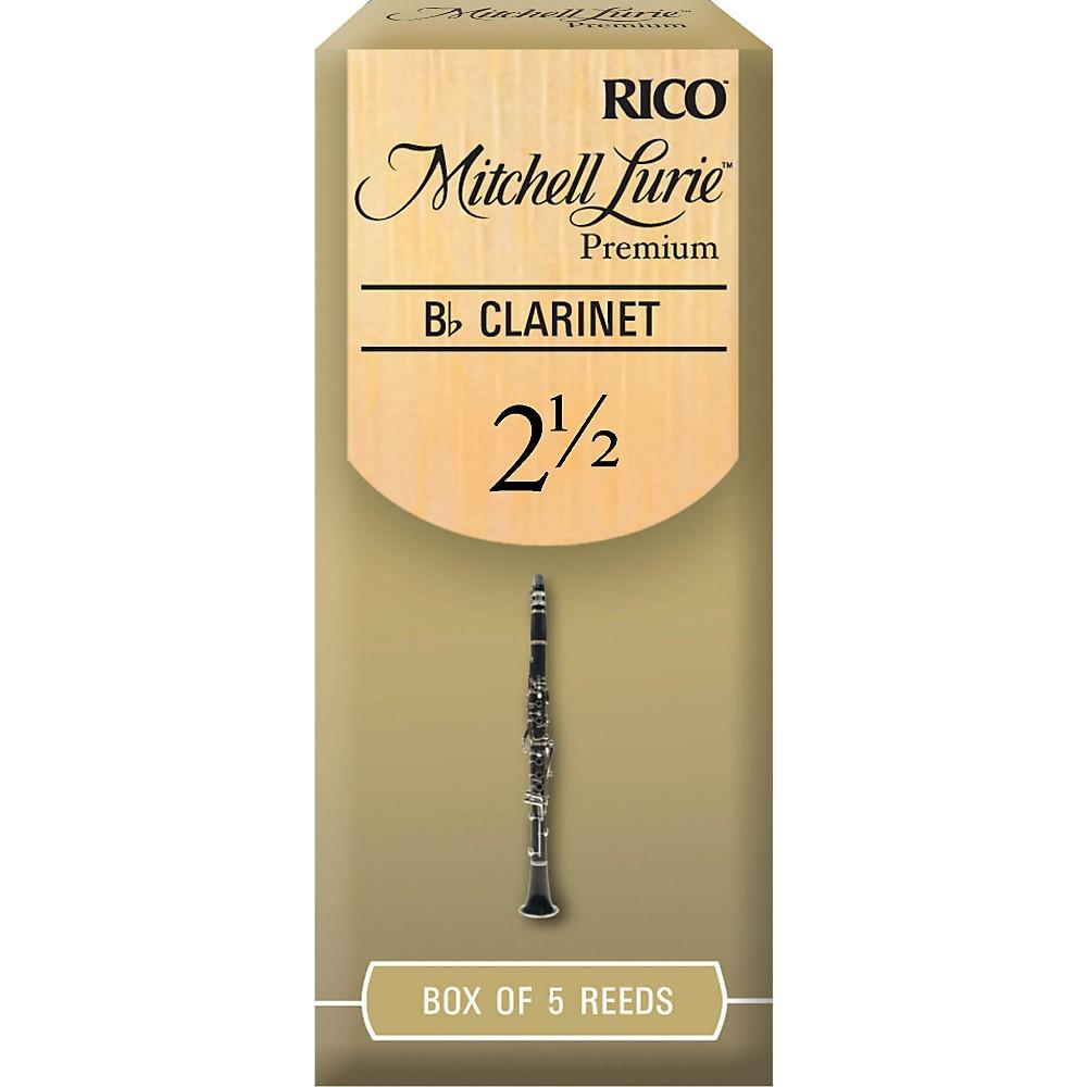Mitchell Lurie Premium Bb Clarinet Reeds Strength 2.5 Box of 5