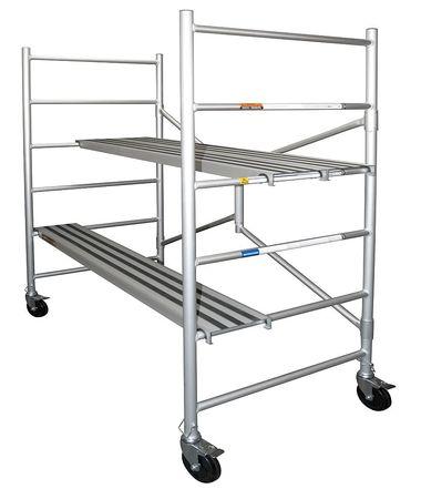 XTEND + CLIMB Portable Scaffold, 72 In. H, Aluminum, CAIRC by XTEND & CLIMB
