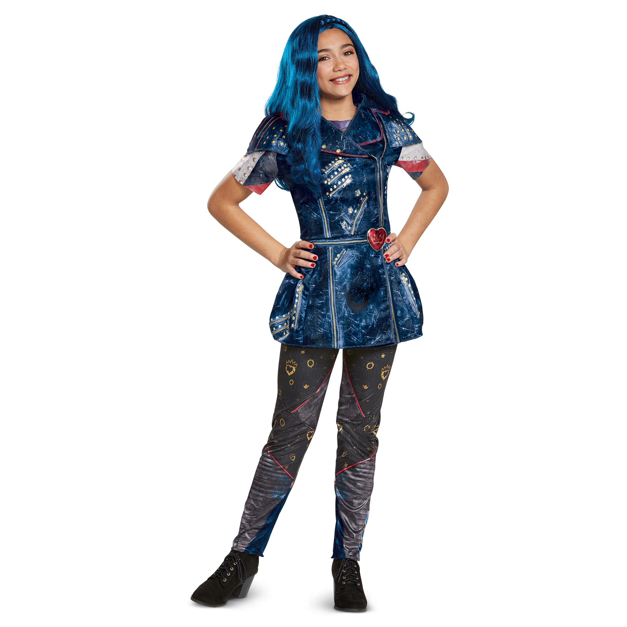 Descendants 2 Girls' Evie Classic Isle Look Costume
