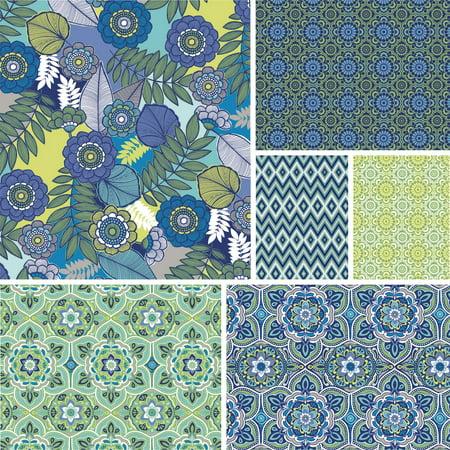 """David Textiles Salt Air 44"""" Cotton Fabric"""