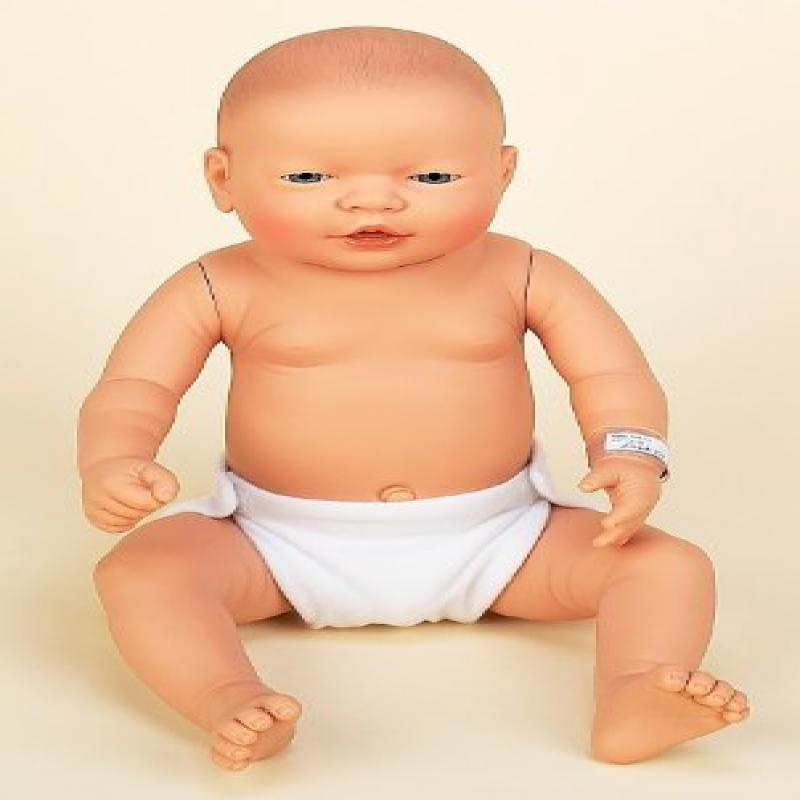 "Anatomically Correct 22"" New Baby Boy Doll Caucasian"