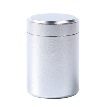 Halloween Tea Light Jars (Jar Tea Coffee Storage Cans Box Aluminum Airtight-Proof Container Herb)