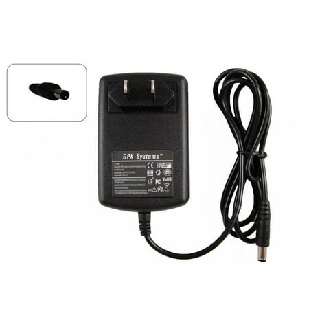 GPK Systems 24W Ac Adapter for Select RCA Portable DVD Players