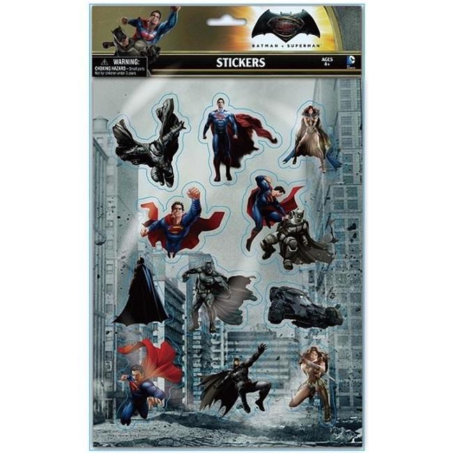 Koehlergroup 12010406 batmanv superman puffy stickers