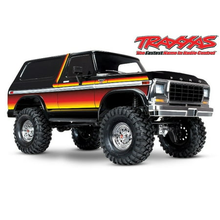 New Traxxas Gtr Shock (Traxxas 82046-4-SUN Bronco Ranger XLT TRX-4 1/10 Scale and Trail Crawler Truck)
