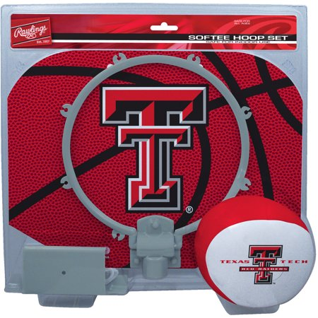 Texas Tech Red Raiders Rawlings Softee Hoop & Ball Set - Red - No Size ()