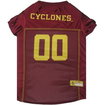 Pets First College Iowa State Cyclones Collegiate Dog Jersey, Available in Various Sizes