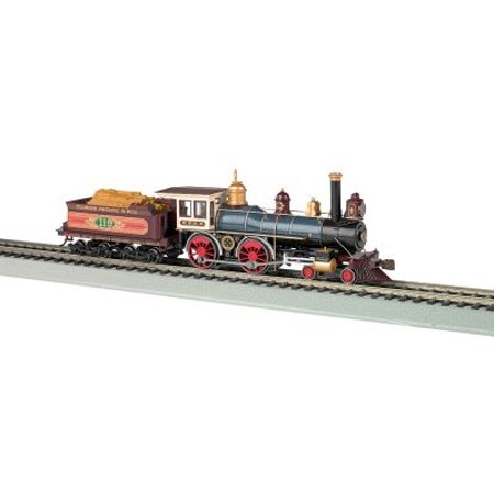 Union Pacific 4-4-0 American Steam Dcc Ready Train Engine Ho (Digitrax Dcc Ho Scale Decoder)