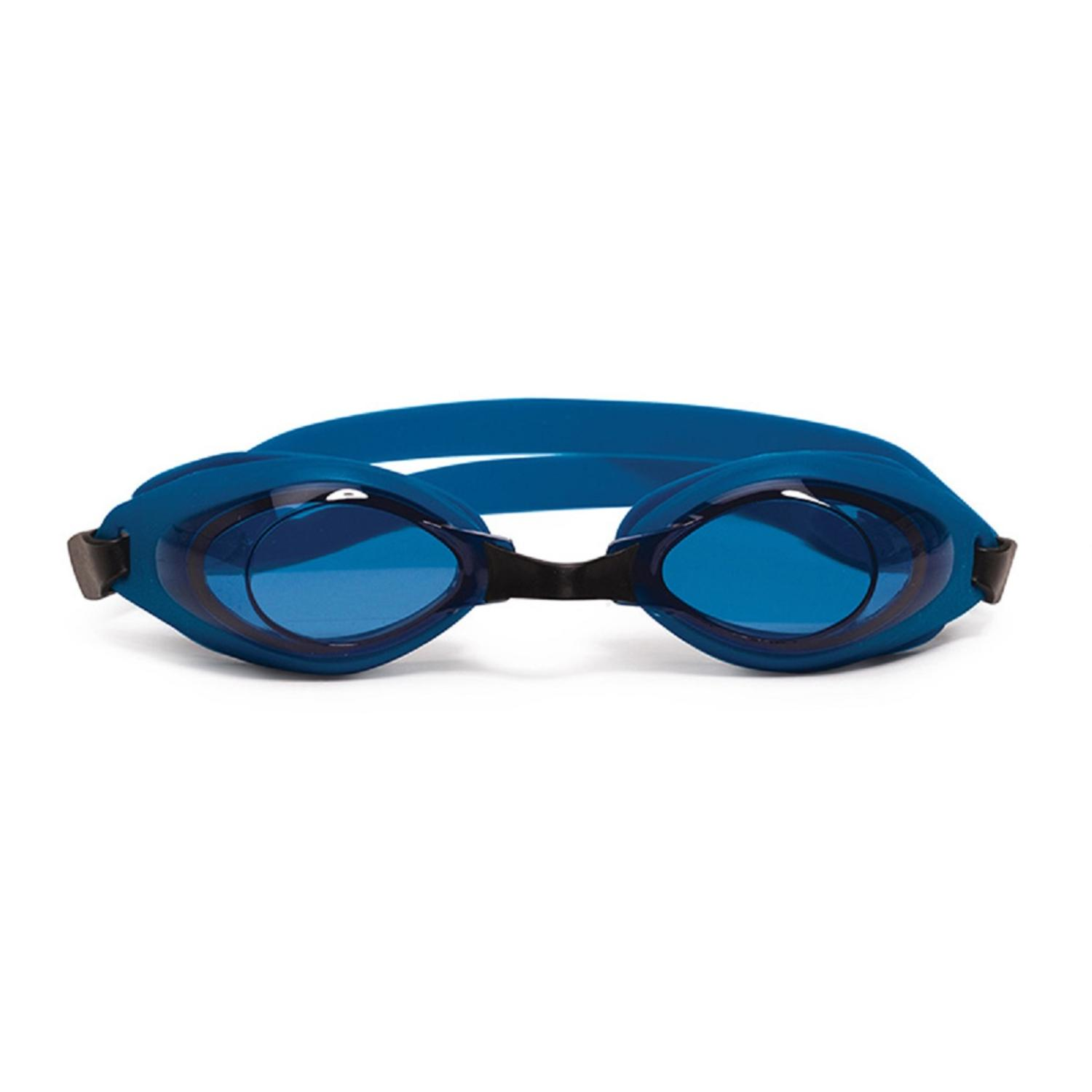"""6.5"""" Blue and Black Pro Swim Goggles Swimming Pool Accessory for Children by Pool Central"""