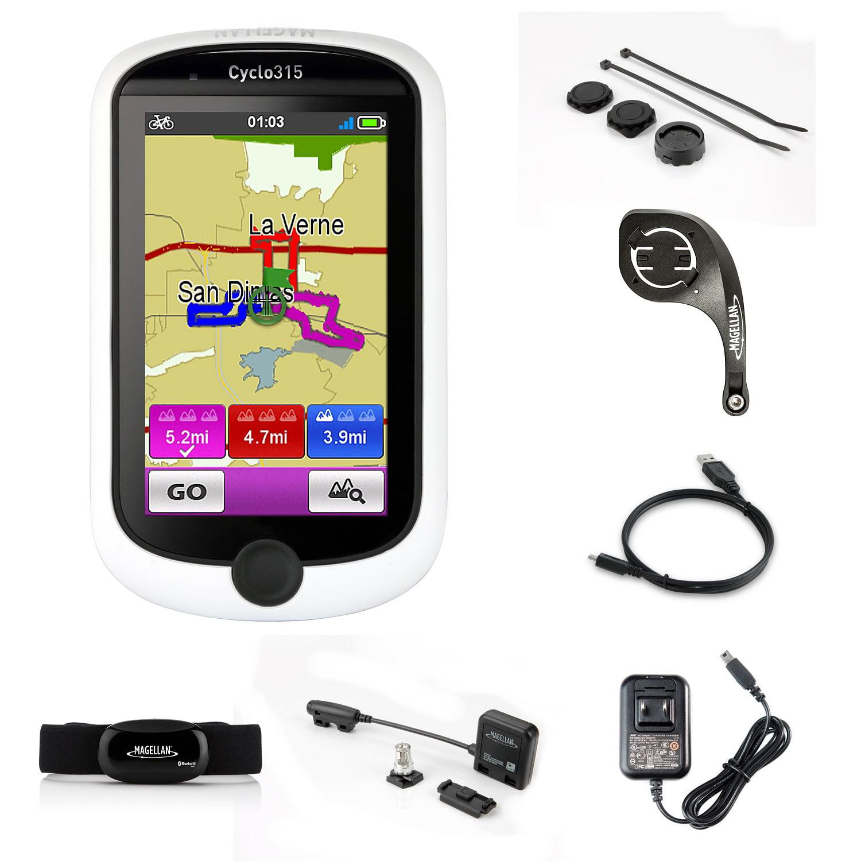 Magellan Cyclo 315hc GPS Cycling Computer Heart Rate Monitor