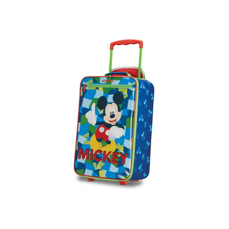 American Tourister Disney Mickey Mouse 18'' Softside Kids Carry-on Luggage American Tourister Mesh Carry On