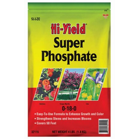 32115 Fertilome Hi Yield Super Phosphate Plant Fertilizer, 4-Pound, An Inexpensive & Effective Source Of Phosphorous That Plants & Bulbs Need To Produce.., By Voluntary Purchasing (Best Plant Sources Of Iron)