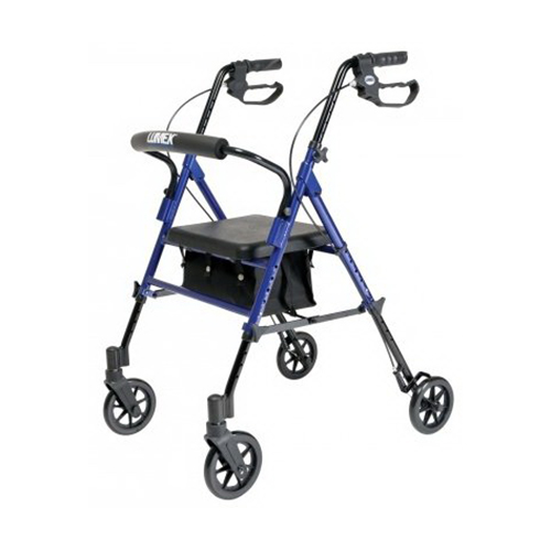 Lumex Set N Go Height Adjustable Rollator, Rj4700R - 1 Ea