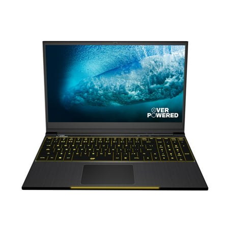 OVERPOWERED Gaming Laptop 15, 2 Year Warranty, 144Hz, Intel