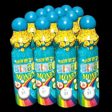 Show Me The Bingo Money Daubers - Teal - 12 per pack (Mes Halloween Bingo)