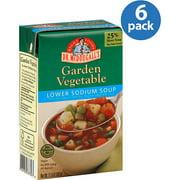 Dr. McDougall's Lower Sodium Garden Vegetable Soup, 17.9 oz, (Pack of 6)