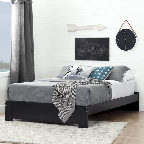 South Shore Reevo Queen Platform Bed, Multiple Finishes