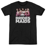 Bridesmaids Maids Mens Adult Heather Ringer Shirt