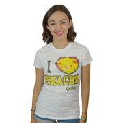Pokemon I Love Pikachu Women's White T-shirt