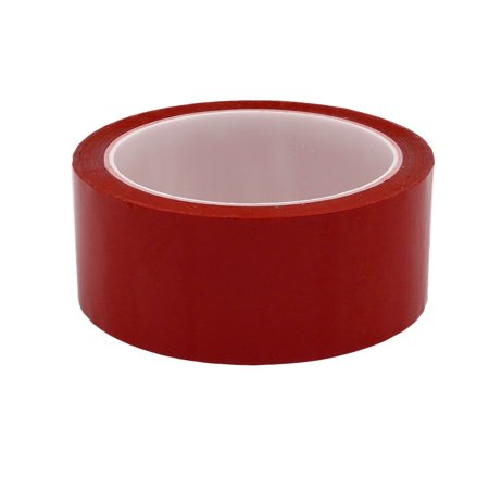 40mm Width 164ft Length Single-side Electrical Insulated Adhesive Tape Red - image 1 de 2