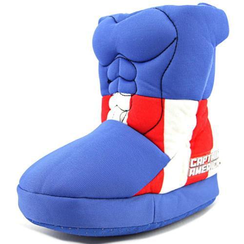 Marvel Heroes Captain America  Toddler US 5 Blue Slipper