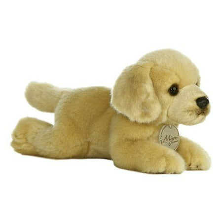 Golden Lab 8 Inch - Miyoni - Dog & Puppy Stuffed Animal by Aurora Plush (10801) (Stuffed Animal Puppies)
