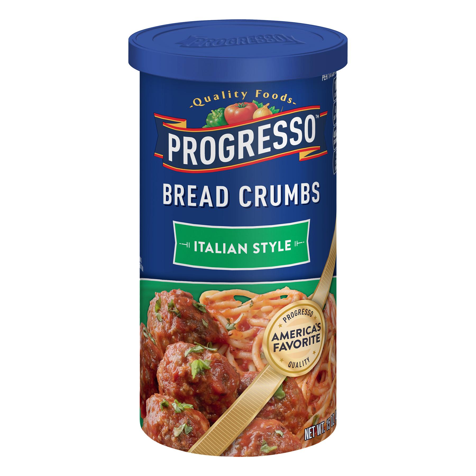 (5 Pack) Progresso Italian Style Bread Crumbs, 15 oz