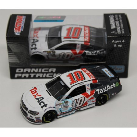 Danica Patrick  10 Taxact 2016 Chevrolet Ss Nascar Diecast Car 1 24 Scale Arc Hoto Produced By Lionel