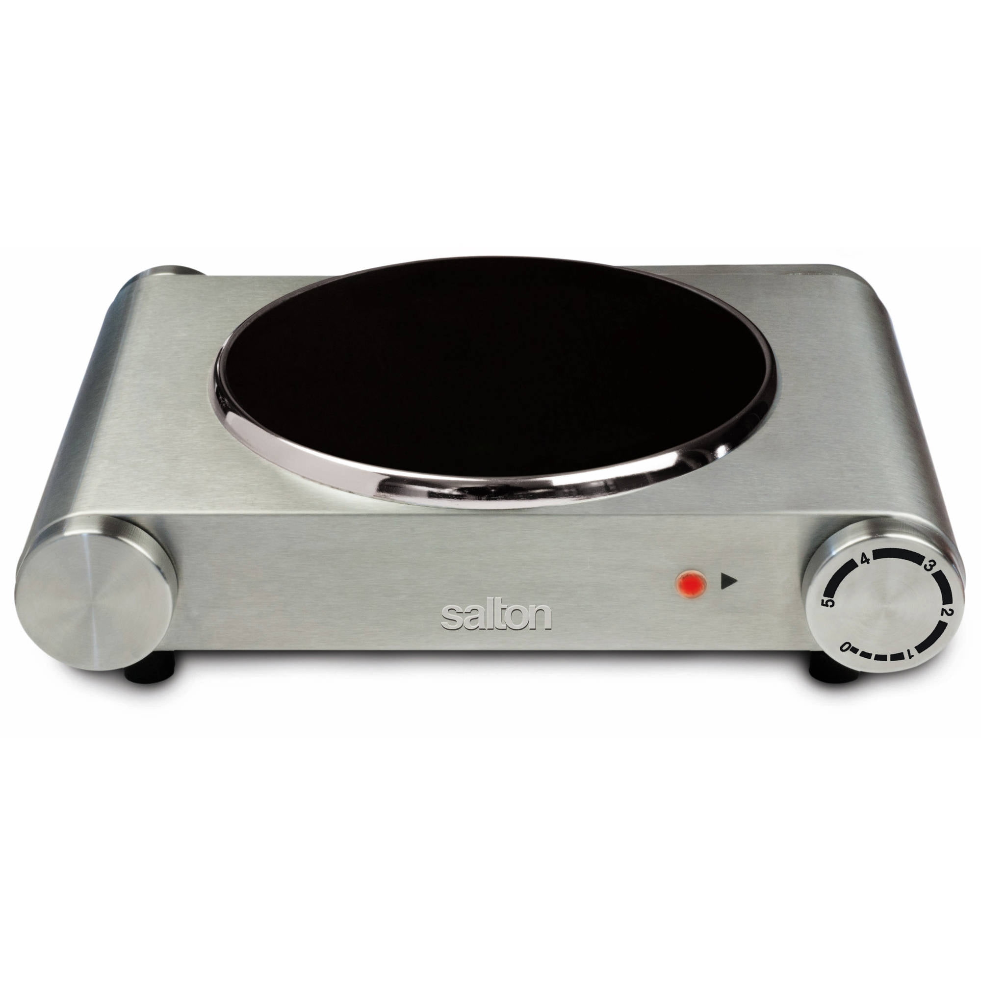 Salton Portable Infrared Cooktop, Single Burner
