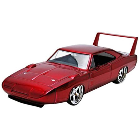 1969 dodge charger daytona red fast furious 7 movie 124 diecast model car by