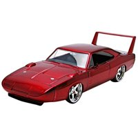 1969 Dodge Charger Daytona Red Fast & Furious 7 Movie 1/24 Diecast Model Car by Jada 97060