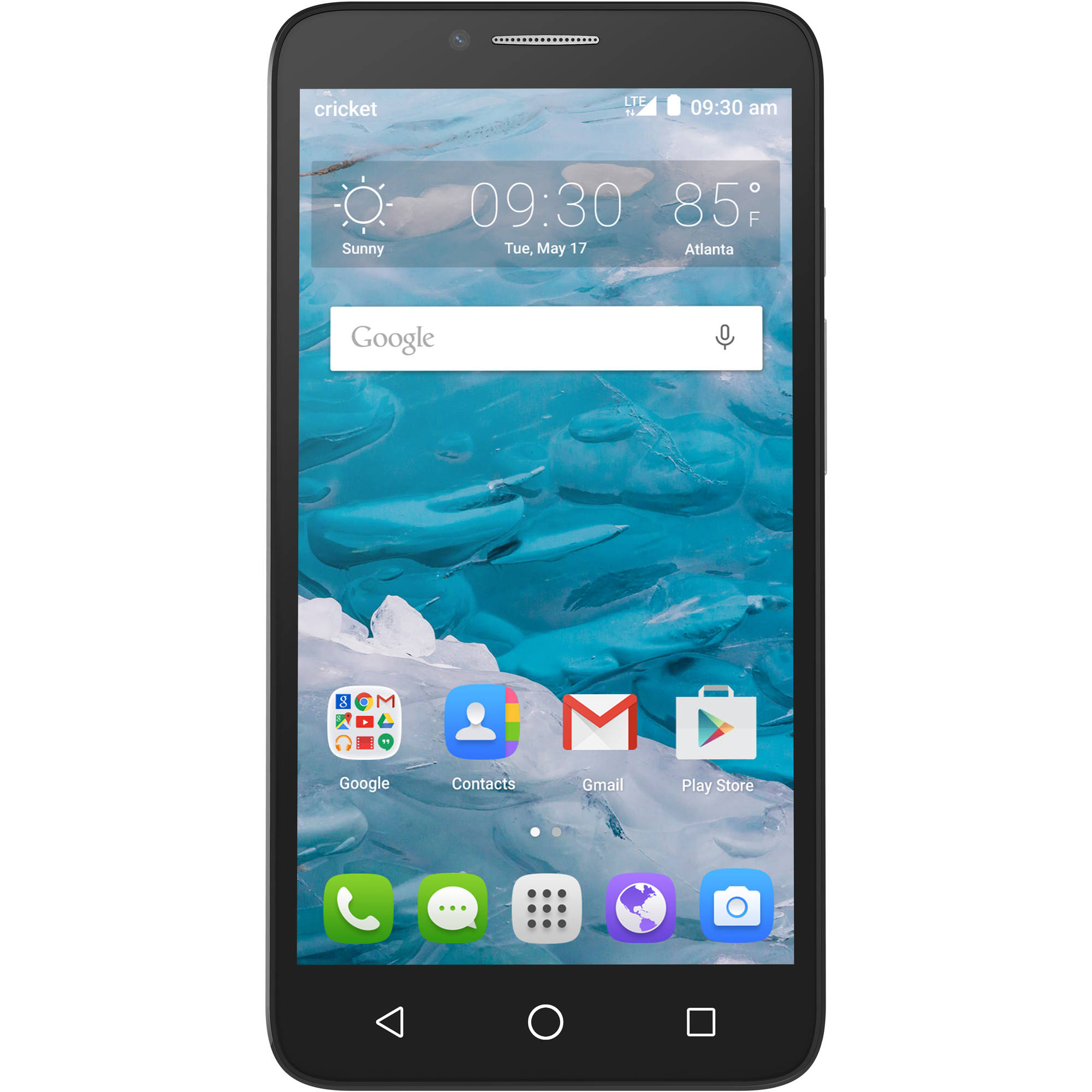 Cricket Alcatel OneTouch Flint Prepaid Android Smartphone