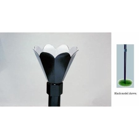 Black In-Ground Lamp Installation Kit 26000 BTU - Natural Gas ()