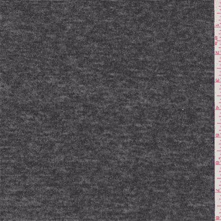 eb3459d236f Smoke Black/Silver Metallic Jersey Knit, Fabric By the Yard - Walmart.com