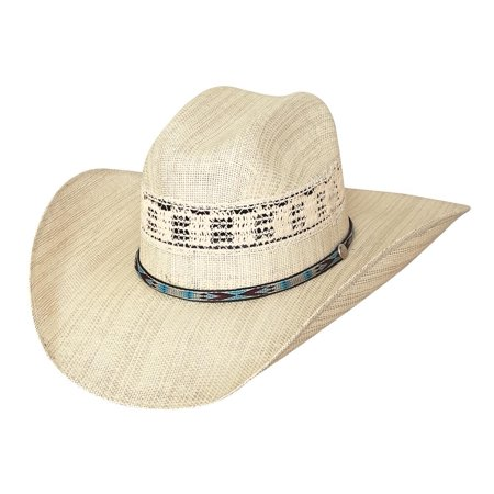 7' Grad Cap - Bullhide Hats Rodeo Round-Up Collection Crossfire 20X Natural Cowboy Hat