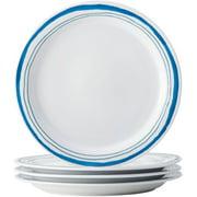 Rachael Ray Brushstrokes Stoneware Dinnerware Set, 16-Piece, Blue ...