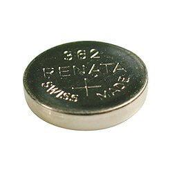 Renata Watch Battery - Renata 362 Button Cell watch battery