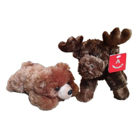 GRIZZLY BEAR & MAXAMOOSE MOOSE Mini Flopsie 8