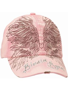 38facac493a45 Product Image Blazin Roxx Women s Embroidered Wings Cap Pink OS