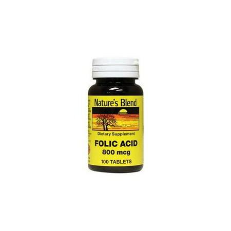 800 Mcg 120 Tabs (Folic Acid 800 mcg 800 mcg 100 Tabs )