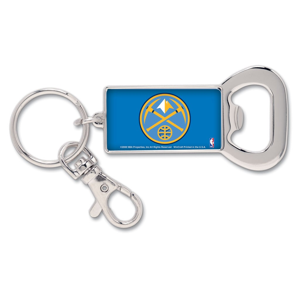 Denver Nuggets Official NBA 3 inch  Key Chain Keychain by WinCraft