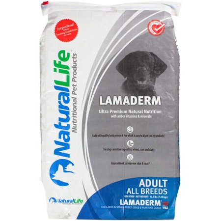 Natural Life Lamaderm Dog Food