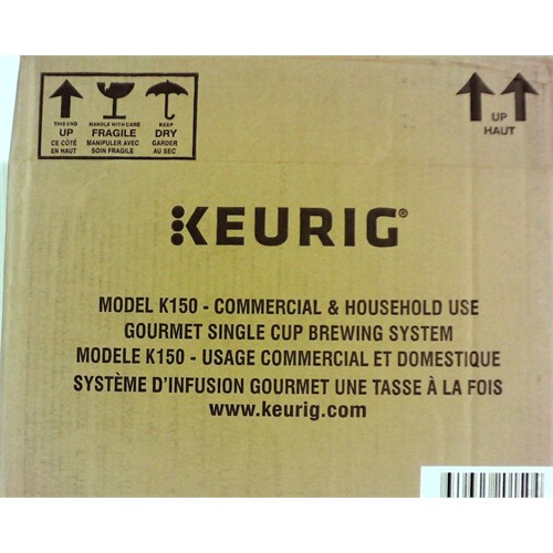 Refurbished Keurig K150 Houshold / Commercial Brewing System: Coffee , Tea, Hot Cocoa