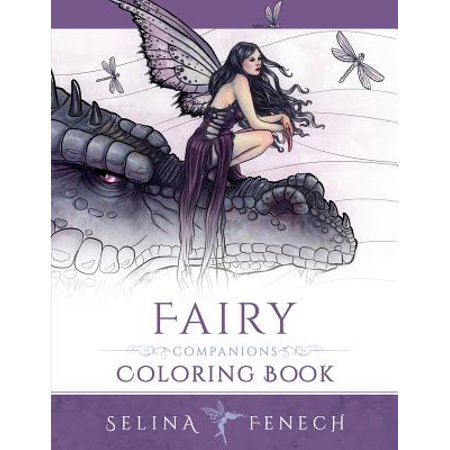 Fairy Companions Coloring Book : Fairy Romance, Dragons and Fairy (Selina Fenech Fairies)