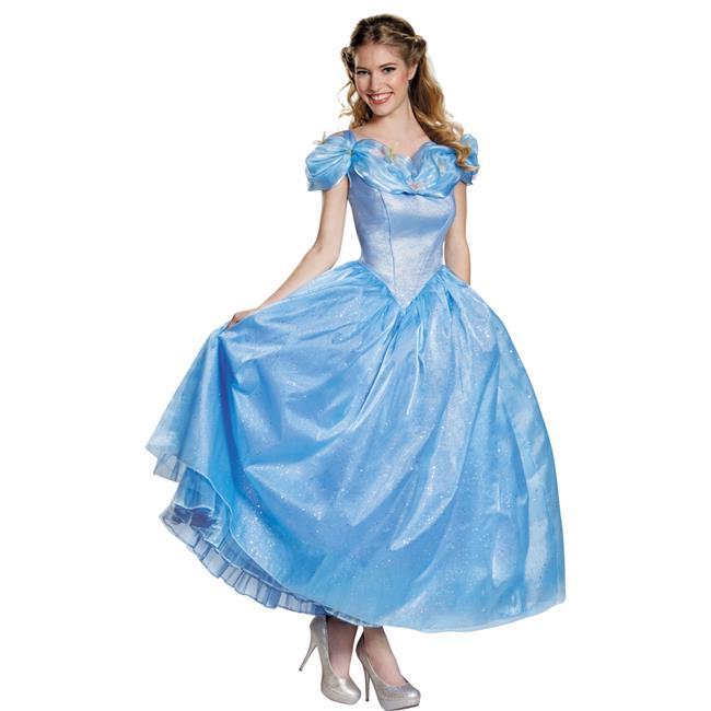 Morris Costumes DG87049N Cinderella Movie Prestige Adult Costume, Size 4-6