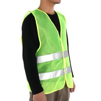 FAGINEY Vest Clothing Traffic Safety Security Visibility Reflective for Cycling Outdoor Sports (XXXL), Outdoor Sports Vest, Traffic Vest