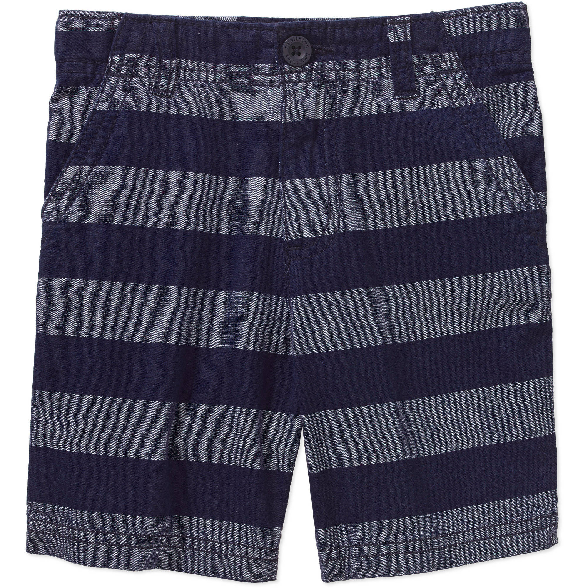 Healthtex Baby Toddler Boy Flat Front Cotton Shorts